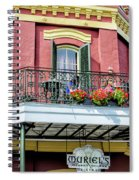 Muriels On The Square _ Nola Spiral Notebook
