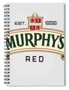 Murphys Irish Red Spiral Notebook