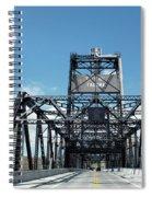 Murray Morgan Bridge, Tacoma, Washington Spiral Notebook