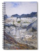 Muscat Old Town Oman 2002  Spiral Notebook