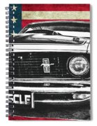 Muscle Us Mustang Spiral Notebook