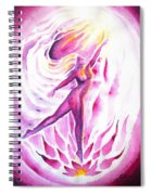 Muse Of Dance Spiral Notebook
