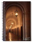Museum Hallway Spiral Notebook