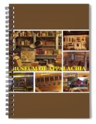 Museum Of Appalachia Block Collage Spiral Notebook