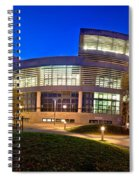 Museum Of Contemporary Art In Zagreb Exterior Spiral Notebook