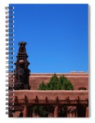 Museum Of Indian Arts And Culture Santa Fe Spiral Notebook
