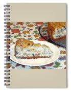 Mushroom And Crab Savory Cheesecake Spiral Notebook