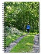 Mushroom Hunting Spiral Notebook