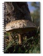 Mushroom II Spiral Notebook
