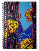 Mushroom On Trees Spiral Notebook