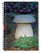 Mushroom Stool Spiral Notebook