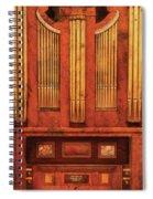 Music - Organist - Skippack  Ville Organ - 1835 Spiral Notebook