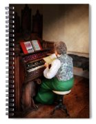 Music - Organist - The Lord Is My Shepherd  Spiral Notebook