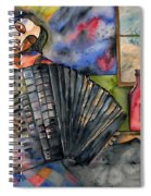 Music And Wine Spiral Notebook