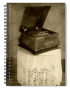 Music Box Memories Spiral Notebook