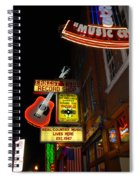 Music City Nashville Spiral Notebook