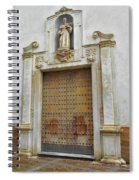 Music Door Cadiz Spiral Notebook