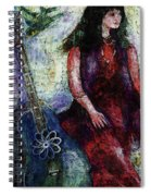 Music Feeds Her Spirit Too Spiral Notebook