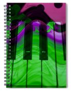 Music In Color Spiral Notebook