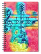 Music Is Everything In Colors Spiral Notebook