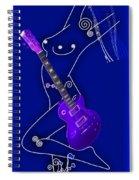 Music Lady Spiral Notebook