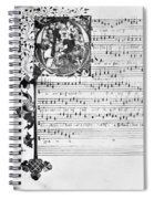 Music Manuscript, 1450 Spiral Notebook