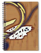Music Note Spiral Notebook