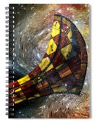 Music Of The Cosmos Spiral Notebook