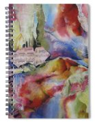 Music Of The Night Spiral Notebook