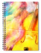 Music To My Eyes Spiral Notebook