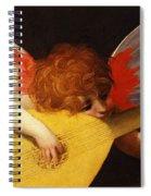 Musical Angel Spiral Notebook