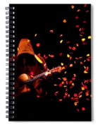 Musical Appirition Spiral Notebook