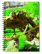 Musical Crab Spiral Notebook