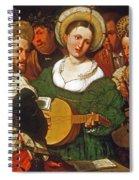 Musical Group Spiral Notebook