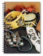 Musical Instrumets Grouping Spiral Notebook