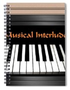 Musical Interlude Spiral Notebook