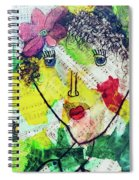 Musical Lady Spiral Notebook