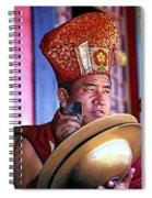 Musical Monk Spiral Notebook