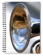 Musical Reflection Spiral Notebook