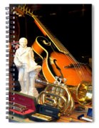 Musically Inclined Spiral Notebook