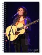 Musician Rosanne Cash Spiral Notebook