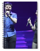Musicians Michael And Marisa Spiral Notebook