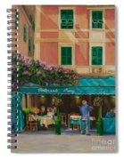 Musicians' Stroll In Portofino Spiral Notebook