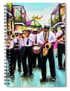 Musique De' Rue Spiral Notebook