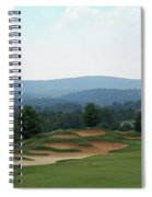 Musket Ridge Golf - In The Foothills Of The Catoctin Mountains - Par 5 - 10th Spiral Notebook