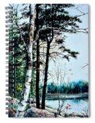 Muskoka Morning Spiral Notebook