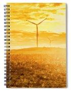 Musselroe Wind Farm Spiral Notebook