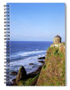 Mussenden Temple, Portstewart, Co Spiral Notebook