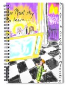 Must I Stay? Spiral Notebook