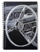 Mustang Dash Spiral Notebook